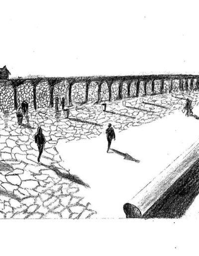 Dessin-paysage-marseille