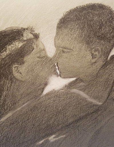 dessin-portrait-couple