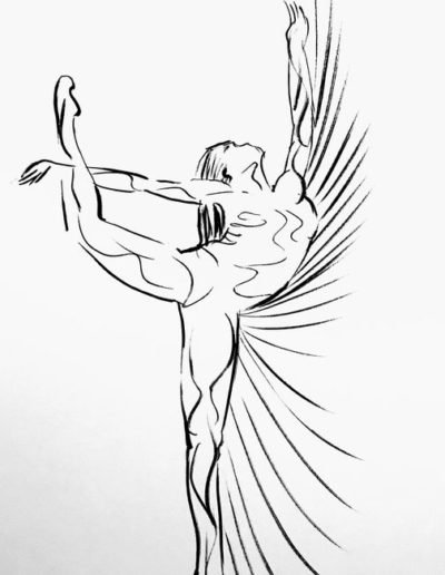 dessin-danseuse